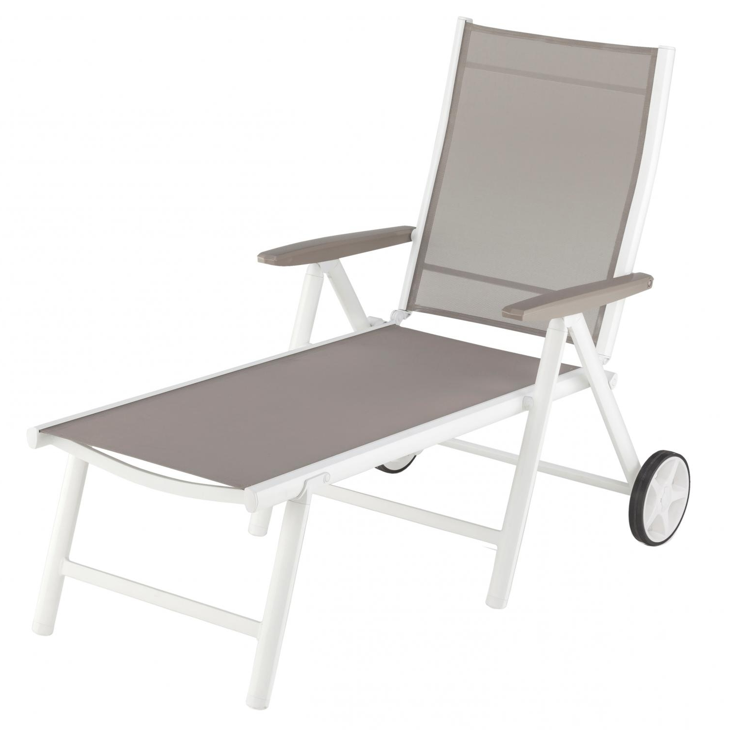 Widely Used Kettler Vista Aluminum Patio Chaise Lounge – Gray : Ultimate Patio Regarding Kettler Chaise Lounge Chairs (View 15 of 15)