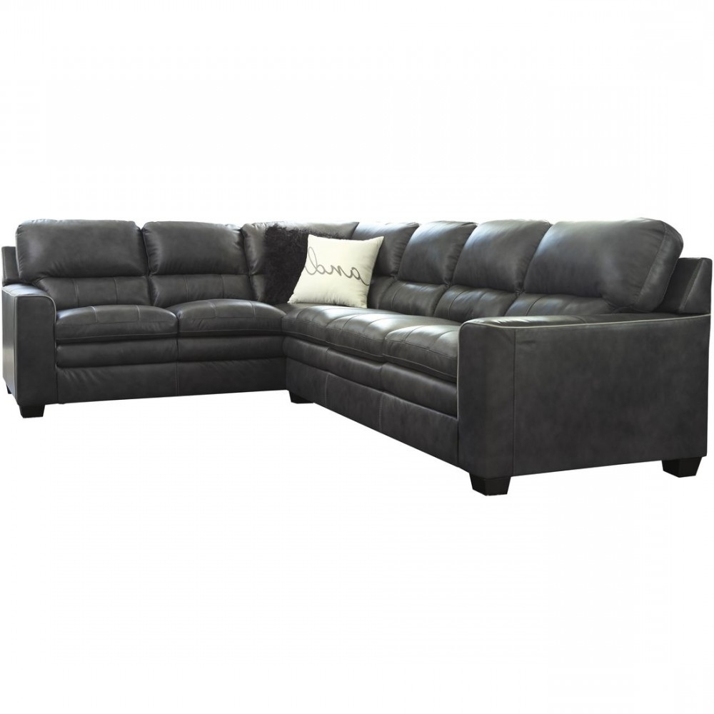 Widely Used Killeen Tx Sectional Sofas Inside Ashley Furniture Gleason Sectional Sofa In Charcoal (View 15 of 15)