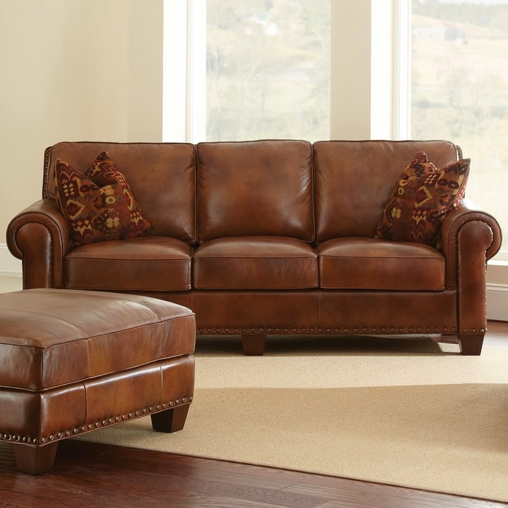 Widely Used Light Tan Leather Sofas Pertaining To Impressive Design Light Brown Leather Couches Sofa Tan Sofas (View 9 of 15)