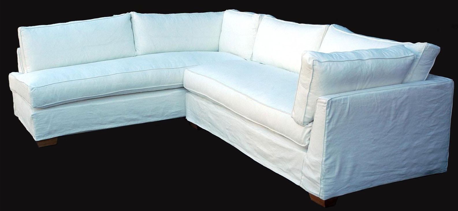 Widely Used Luxury Slipcover Sectional Sofa 83 For Your Modern Sofa Ideas With Throughout Slipcovered Sofas With Chaise (View 15 of 15)