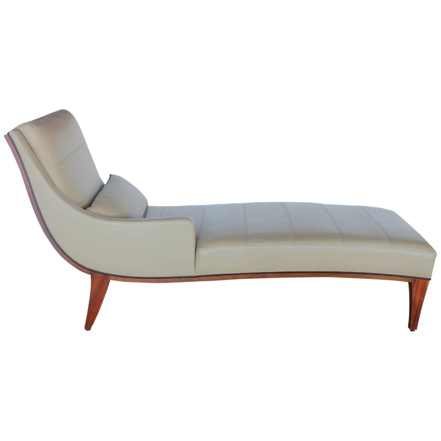 Featured Photo of Modern Leather Chaise Longues