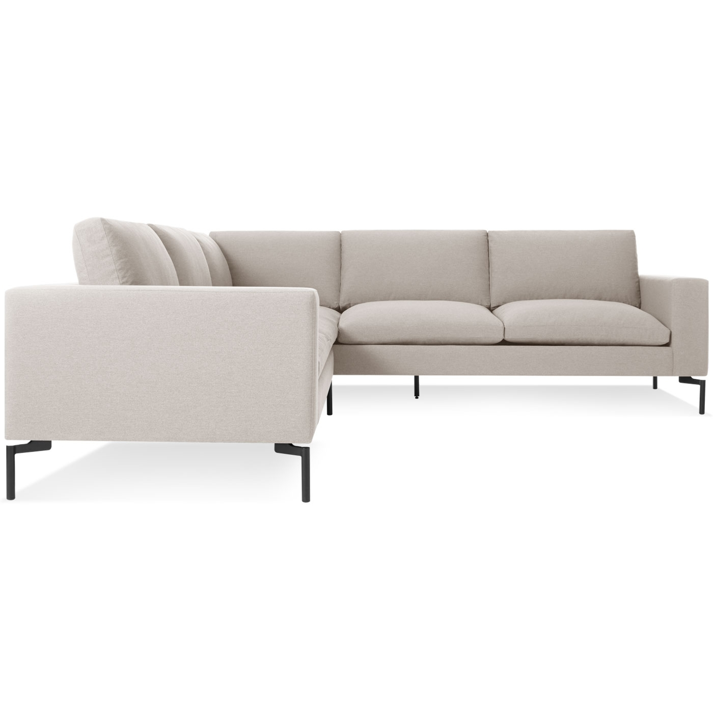 Widely Used New Standard Small Sectional Sofa – Modern Sofas (View 6 of 15)