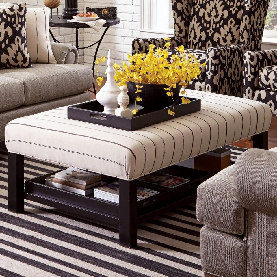 Widely Used Ottomans With Tray Inside Uncategorized : Ottoman Coffee Table Tray Ideas Within Brilliant (View 4 of 15)