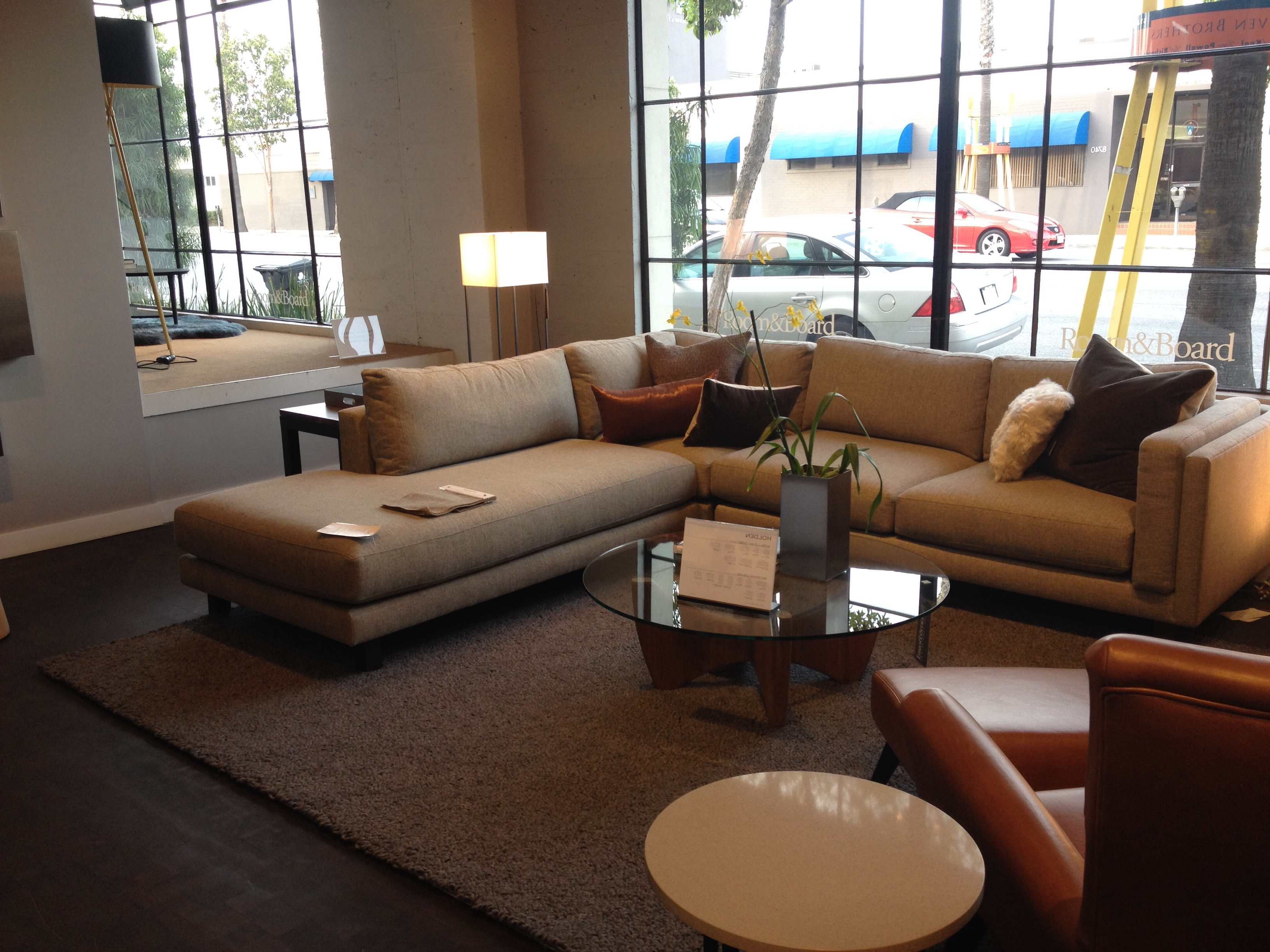 Widely Used Room And Board – Holden Sectional. $3797. 112 X  (View 6 of 15)