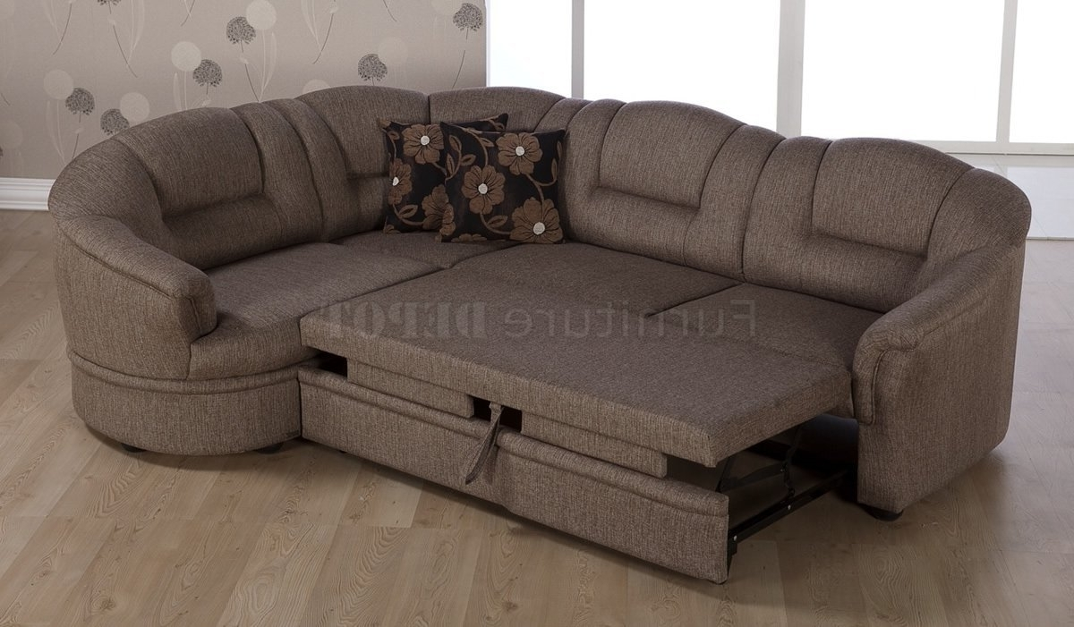 Widely Used Sectional Sofas That Turn Into Beds With Regard To Sofa Bed Sectional Get Relax And Comfort Designinyou Within (View 4 of 15)
