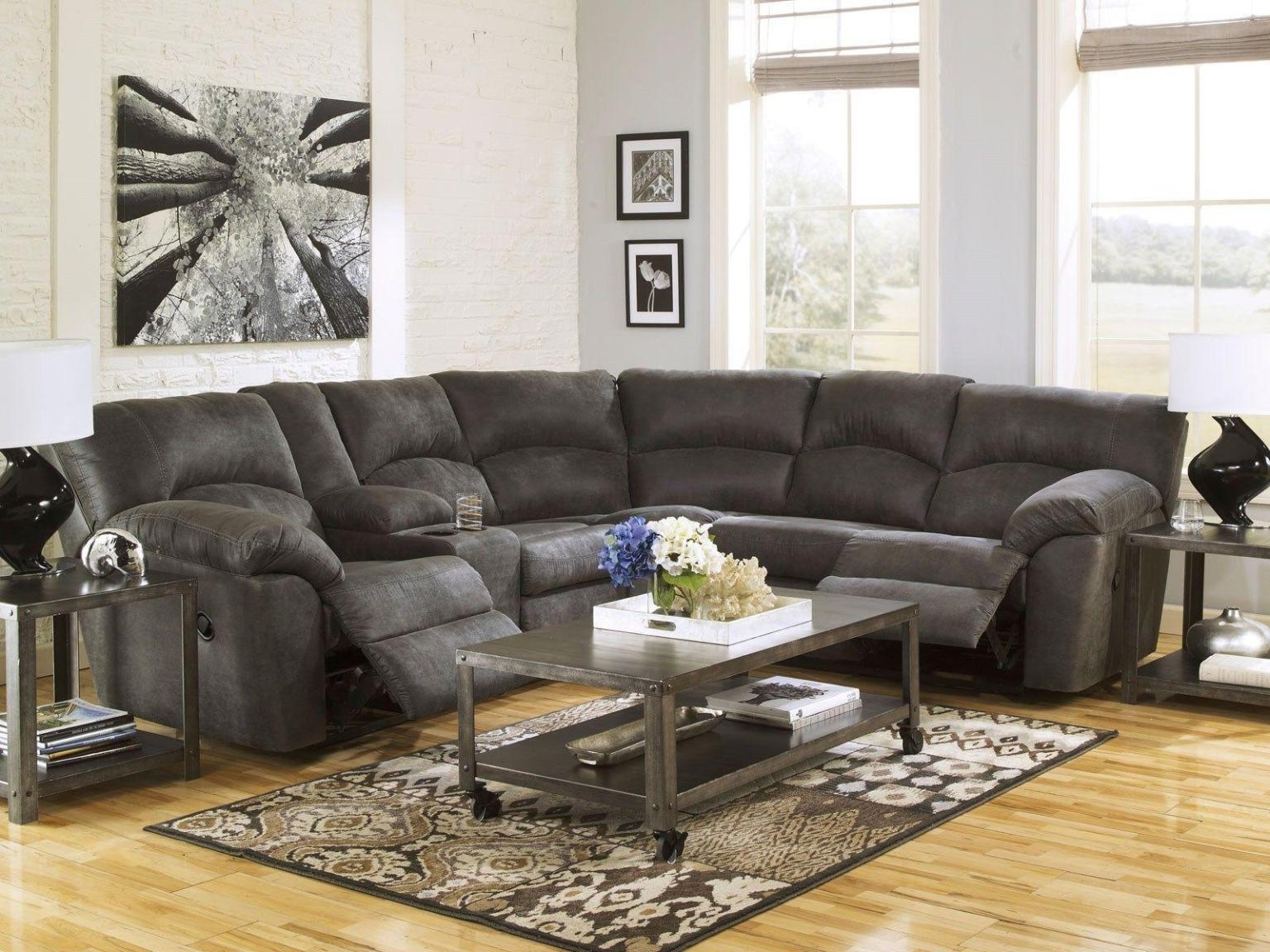 Widely Used Sectional Sofas With Recliners For Small Spaces : Doherty House In Sectional Sofas For Small Spaces With Recliners (View 11 of 15)