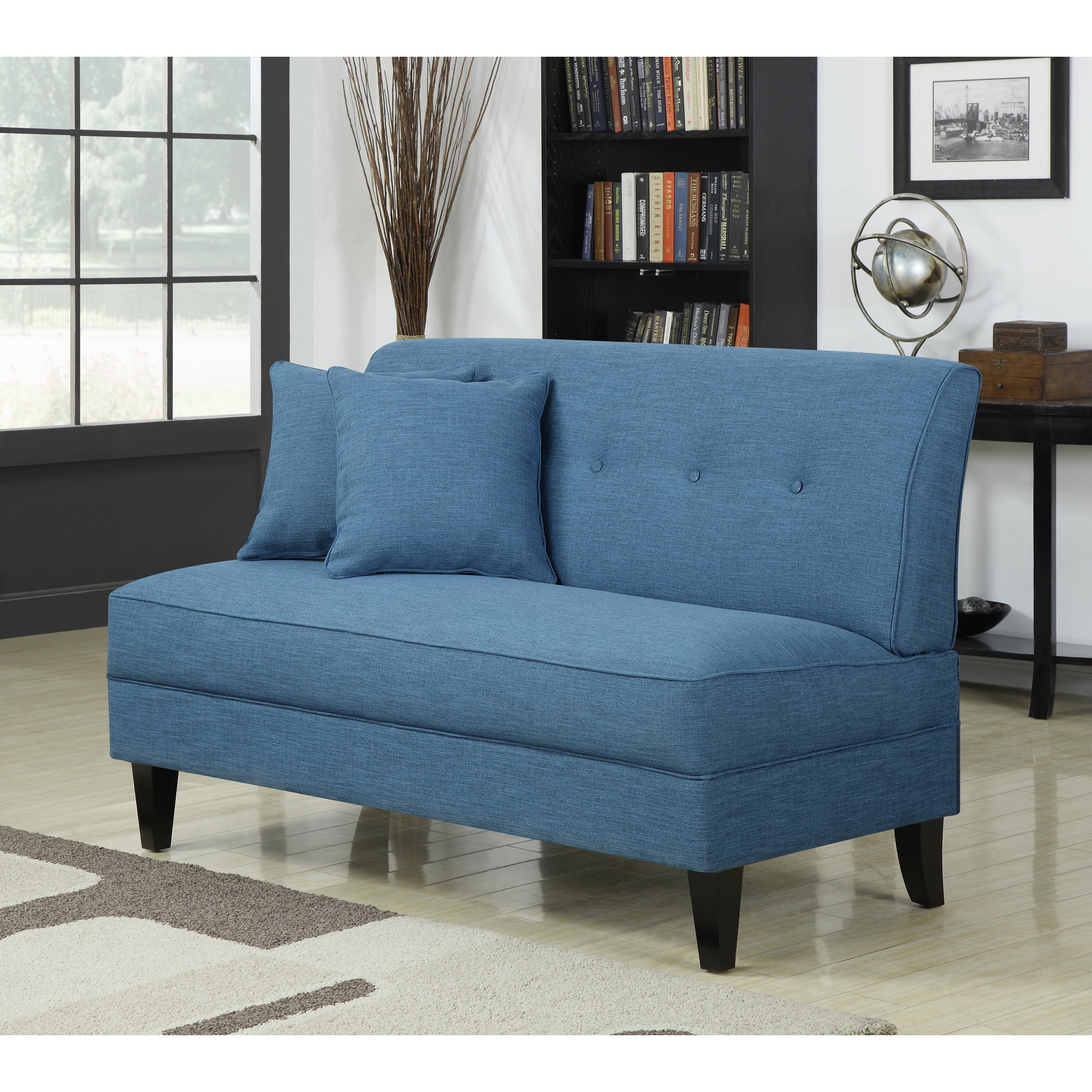 Widely Used Small Armless Sofas Within Furniture: Furniture Ideas: Armless Loveseat — Carolinacouture (View 15 of 15)