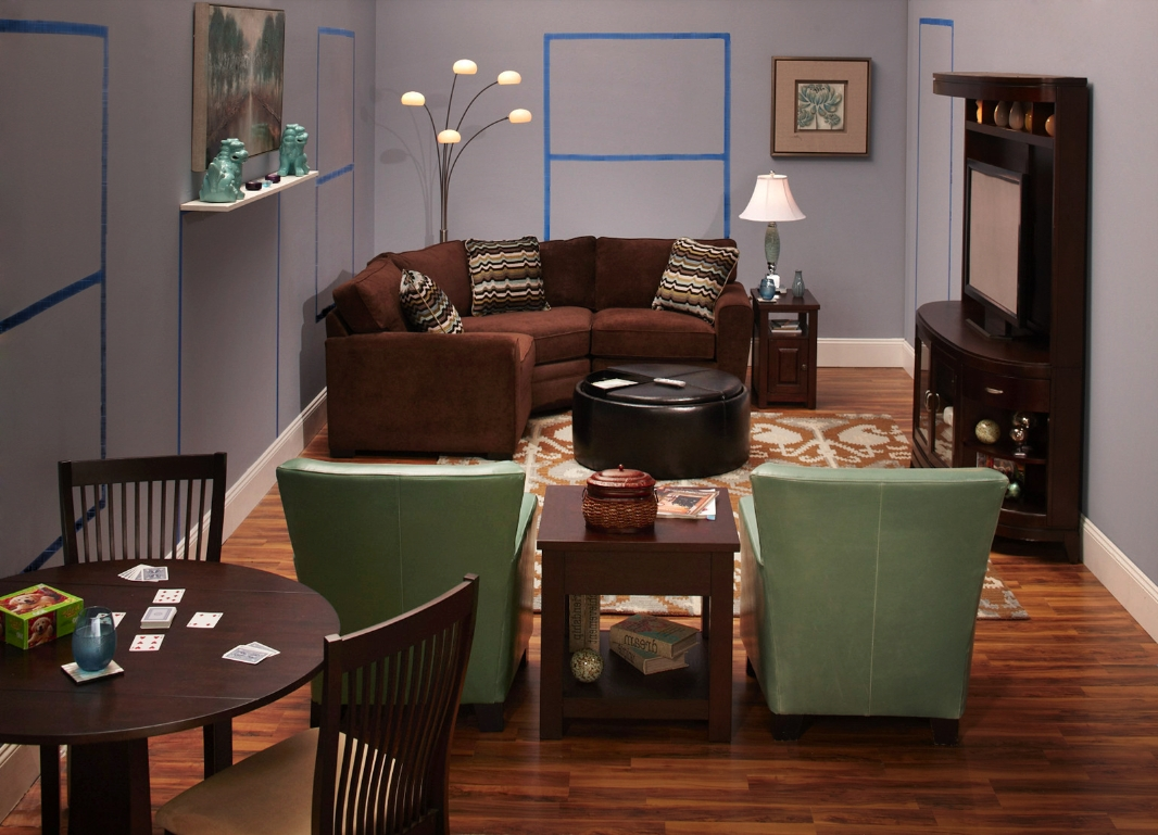 Widely Used Small Living Space Design: Living Room (View 15 of 15)