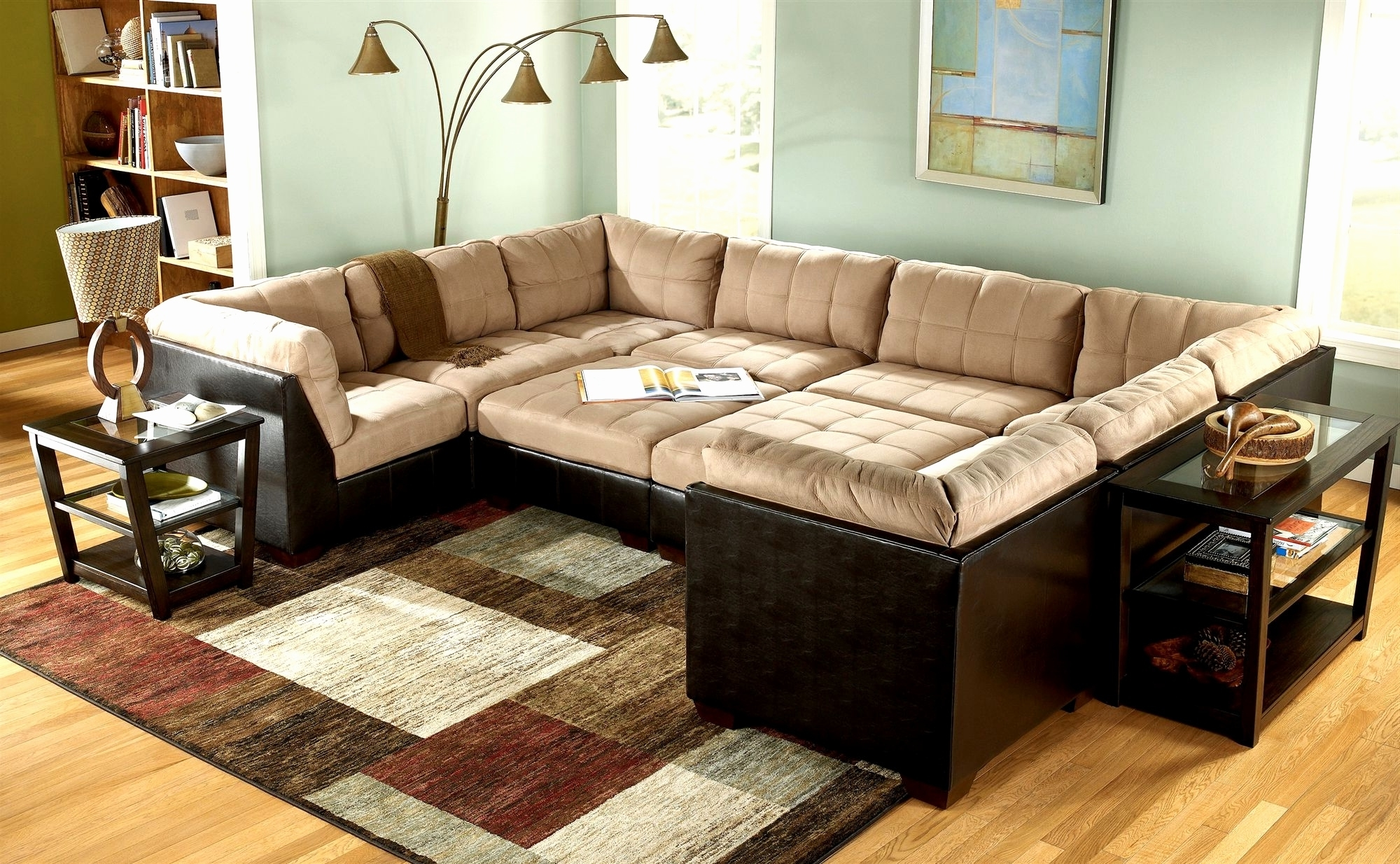 Widely Used Unique Sectional Sofas For Furniture : Extra Wide Sofa Awesome Deep Seated Sofa Sectional (View 13 of 15)