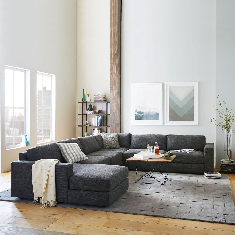Widely Used West Elm Chaises Regarding New West Elm Sectional Sofa – Buildsimplehome (View 15 of 15)