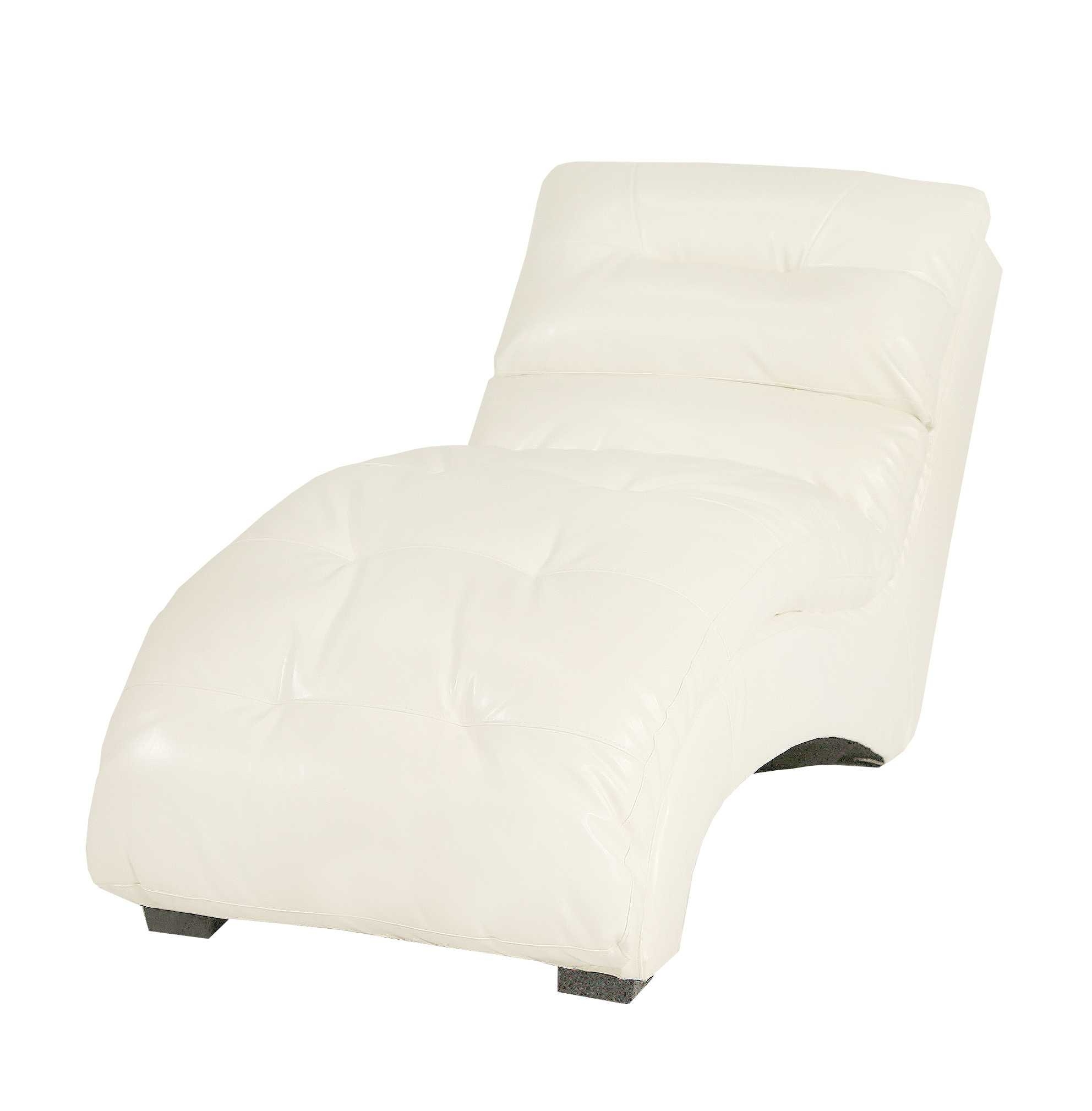 Widely Used White Chaise Lounge – Rpisite Throughout White Chaises (View 15 of 15)