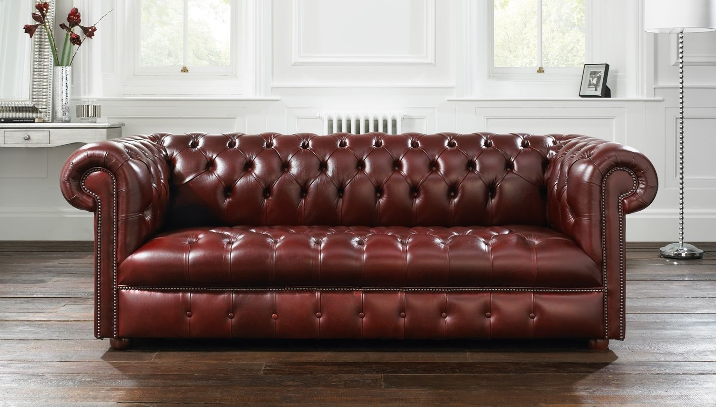 Windsor Sofas Inside Fashionable Windsor Chesterfield Sofa (View 11 of 15)
