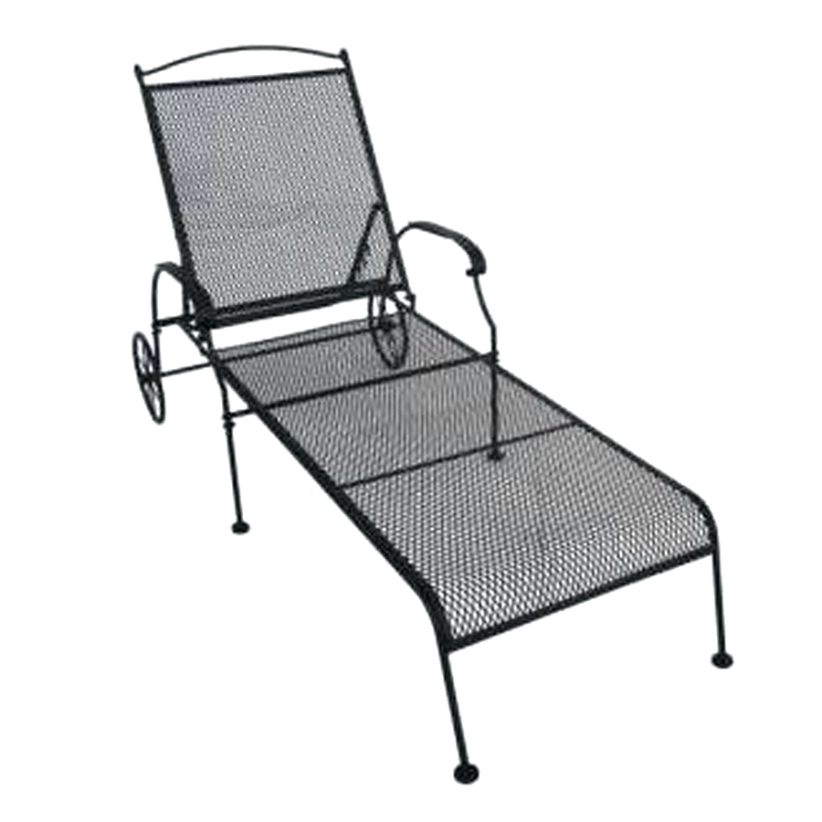 Wrought Iron Outdoor Chaise Lounge Chairs With Newest Wrought Iron Chaise Lounge Chairs Outdoor • Lounge Chairs Ideas (View 14 of 15)