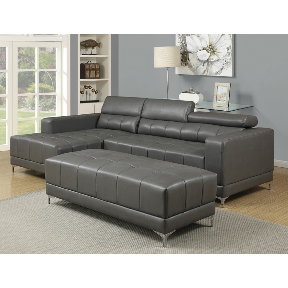 Wynn Sectional – Rsf Chaise, Laf Loveseat – Grey (Uwd133) : Living Pertaining To Well Known Chaise Loveseats (View 13 of 15)
