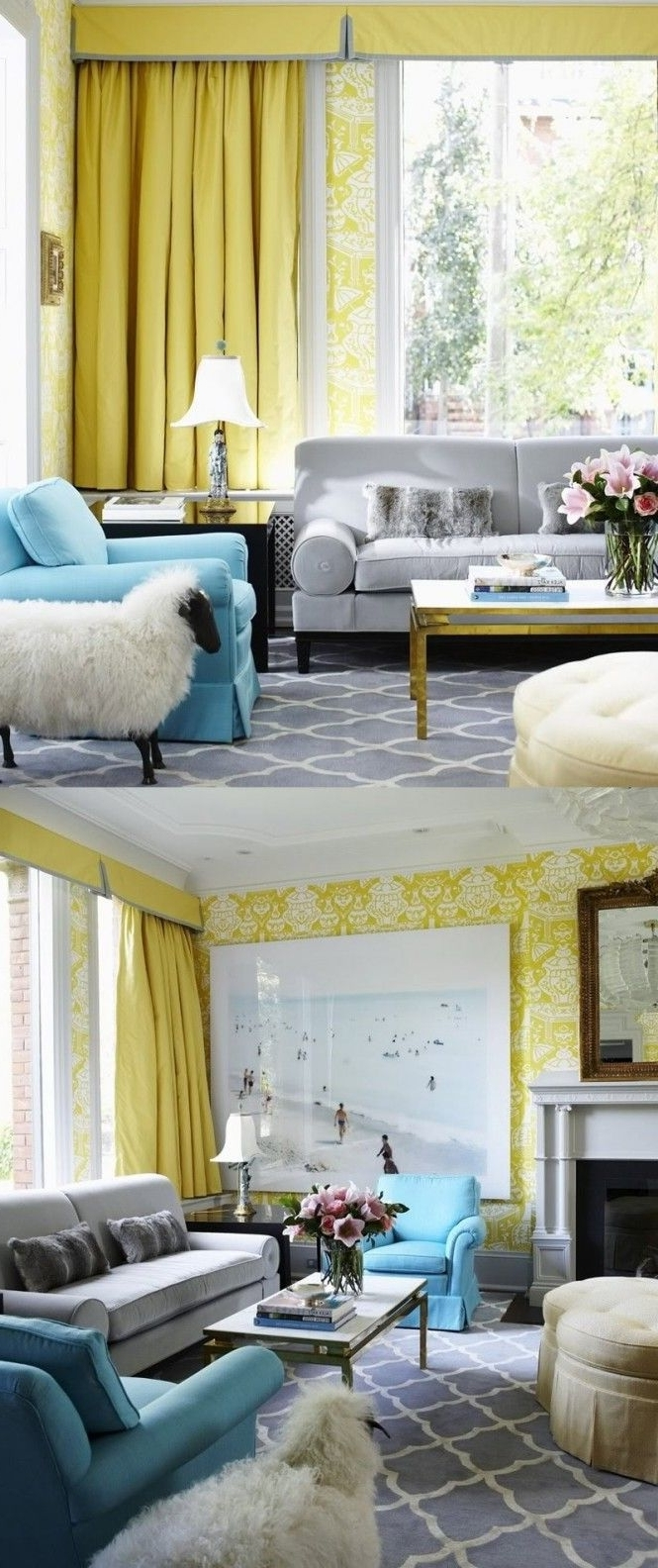 Yellow Chintz Sofas For Trendy Sofa : English Sofas 137 For Sale At 1Stdibs With Chintz Sofas (View 15 of 15)