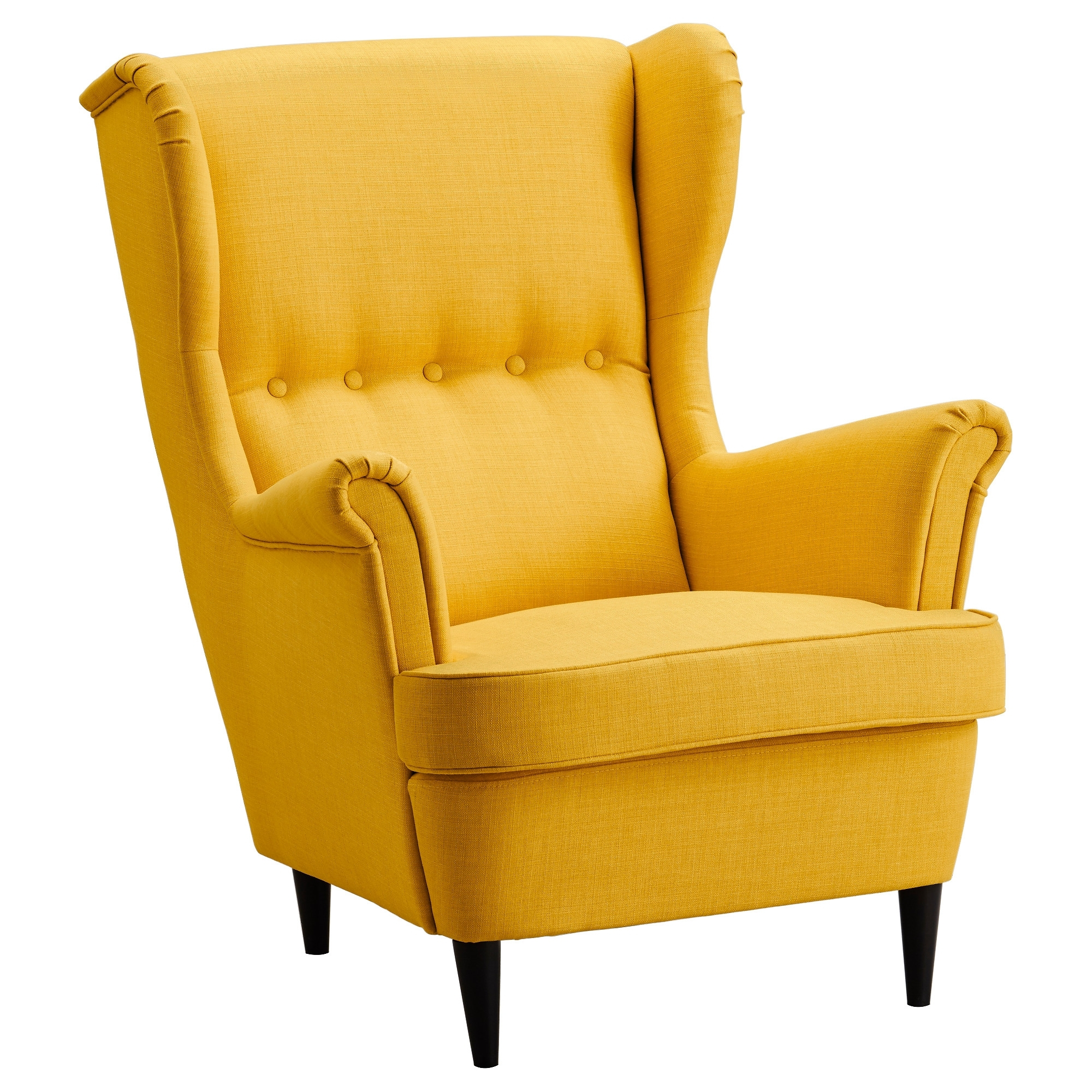 Yellow Sofa Chairs in Most Recently Released Strandmon Wing Chair Skiftebo Yellow - Ikea