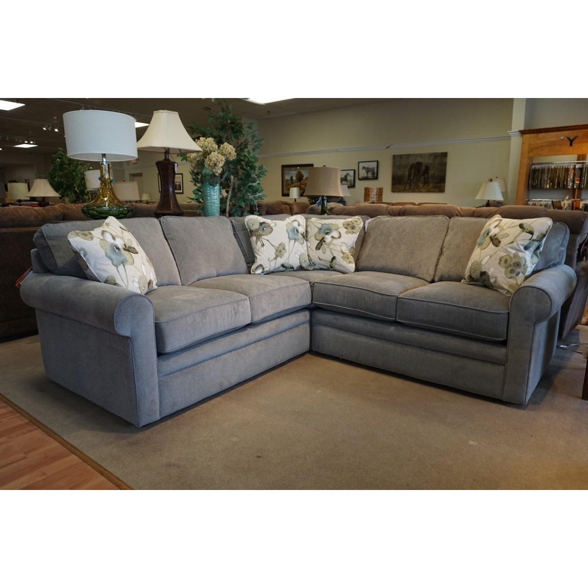 Z Boy Collins Sectional Regarding Newest La Z Boy Sectional Sofas (View 15 of 15)