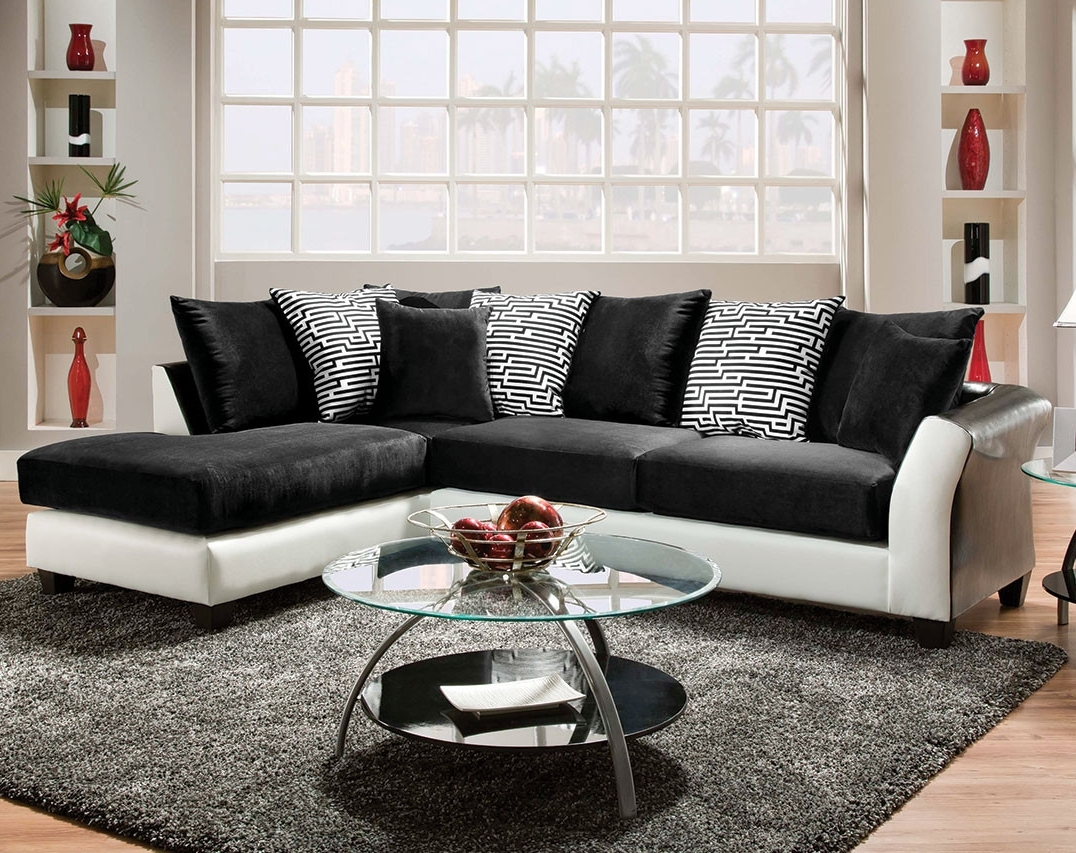 Zigzag 2 Piece Sectional For Memphis Tn Sectional Sofas (View 11 of 15)