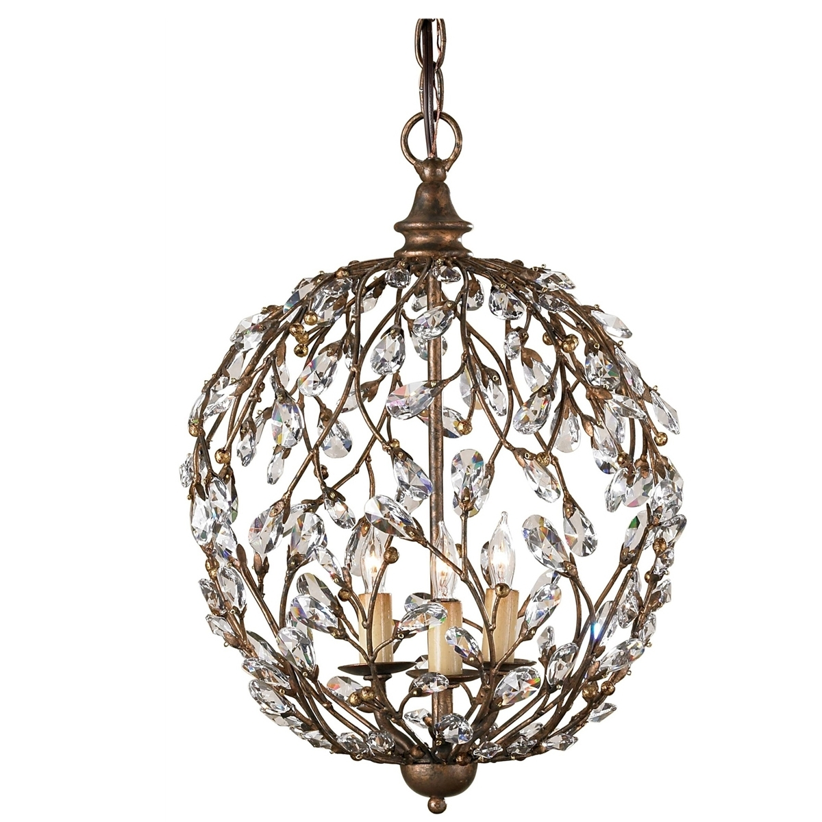 2017 Globe Chandeliers For Chandelier (View 8 of 15)
