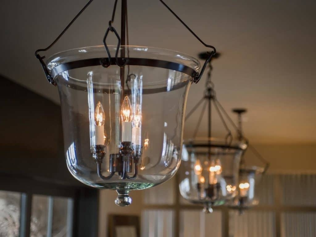 2017 Low Ceiling Chandelier Within Light : Lowes Pendant Lights Hanging Lamps Light Fixtures Exterior (View 14 of 15)