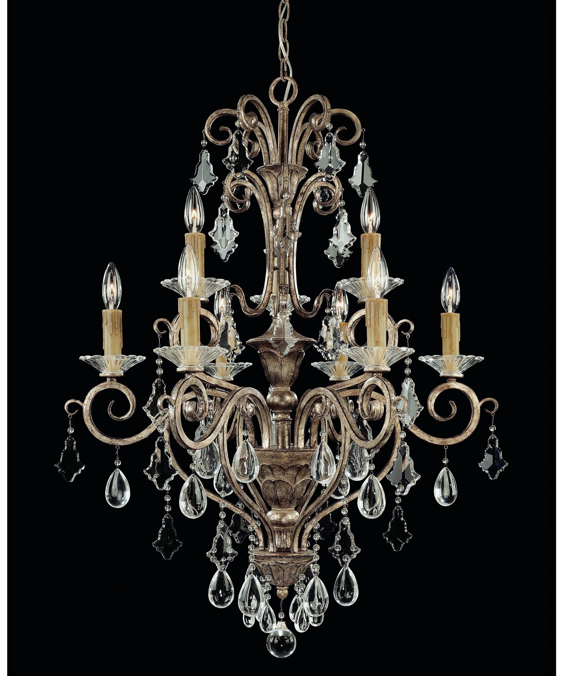 2017 Savoy House 1 1398 9 256 Antoinette 28 Inch Wide 9 Light Chandelier For Savoy House Chandeliers (View 1 of 15)