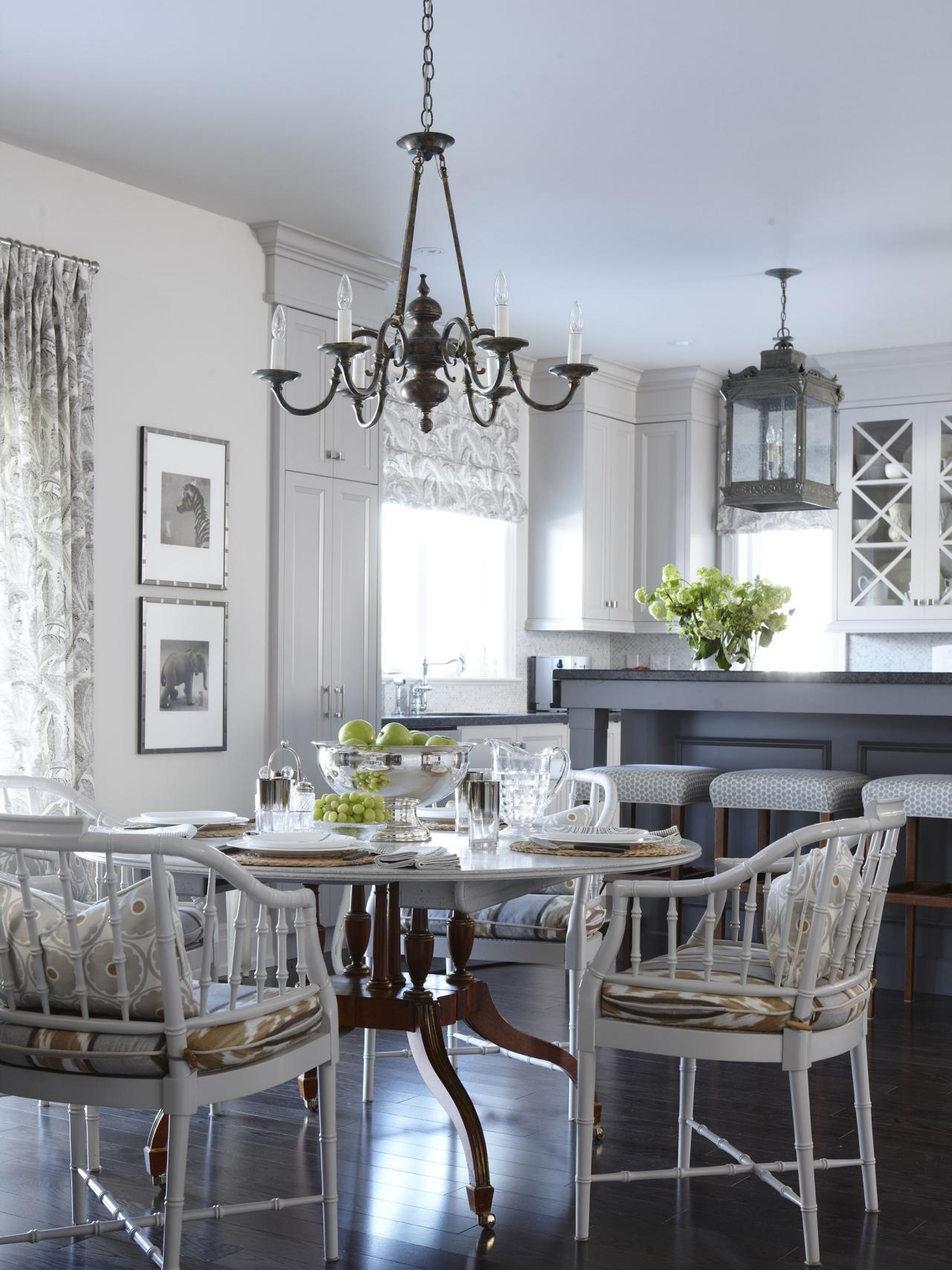 2017 Table Chandeliers Pertaining To Chandelier: Interesting Kitchen Table Chandelier Ideas Home Depot (View 1 of 15)