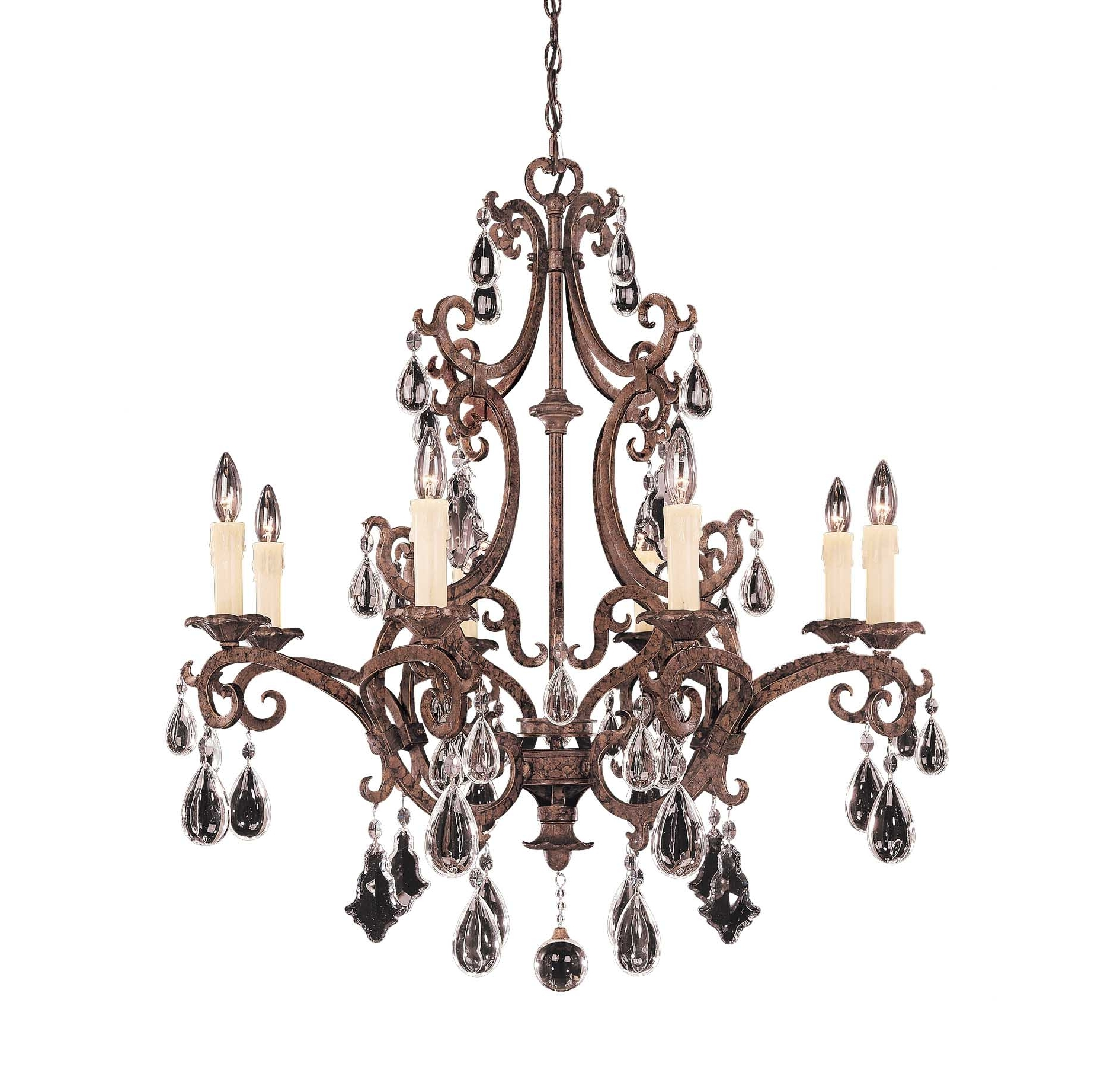2017 Traditional Chandeliers With Regard To The Fine Fabric Of Space And Taste Of Crystal Chandeliers – Blog (View 11 of 15)