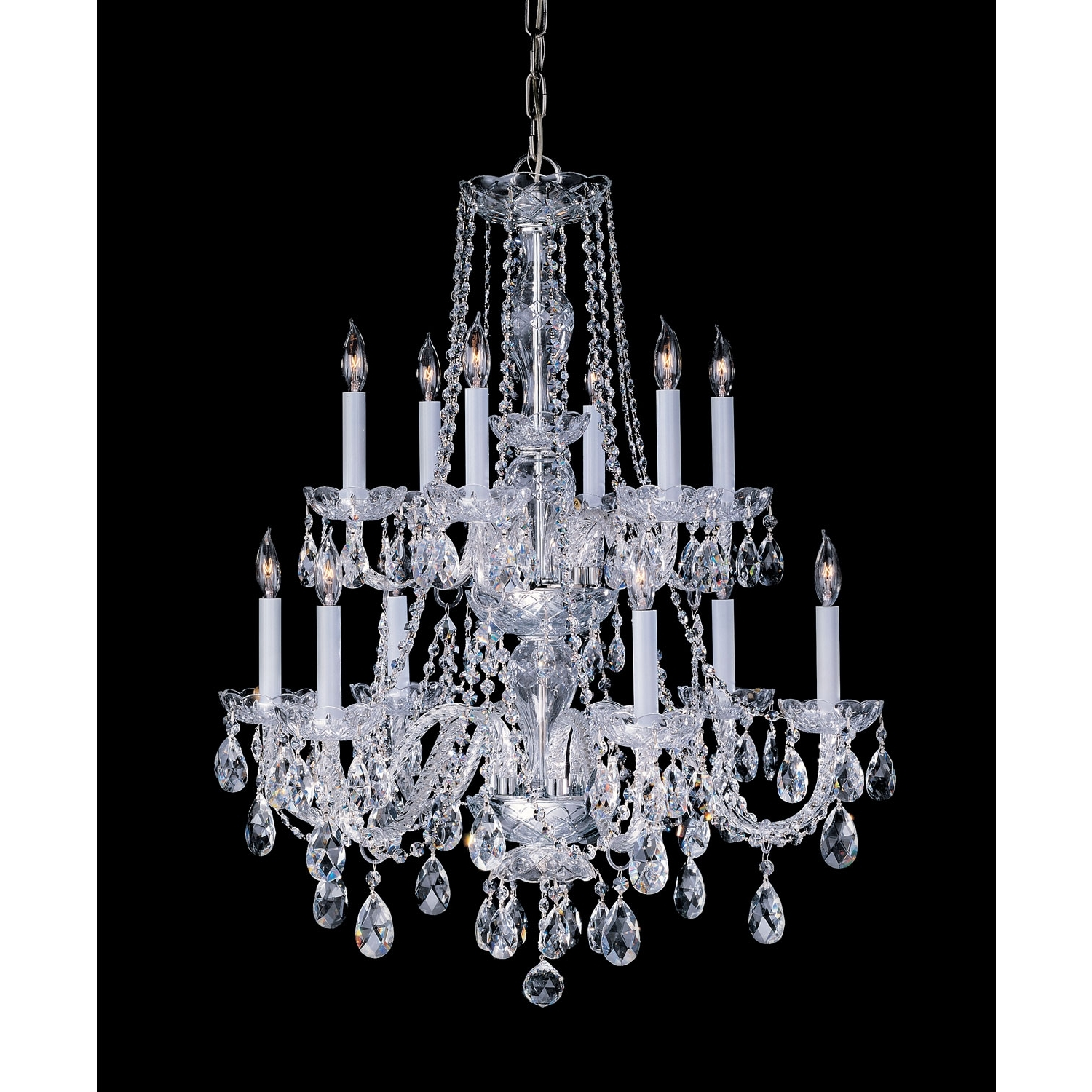 2017 Traditional Crystal Chandeliers Throughout Crystorama Lighting Group Traditional Crystal Polished Brass Twelve (View 3 of 15)