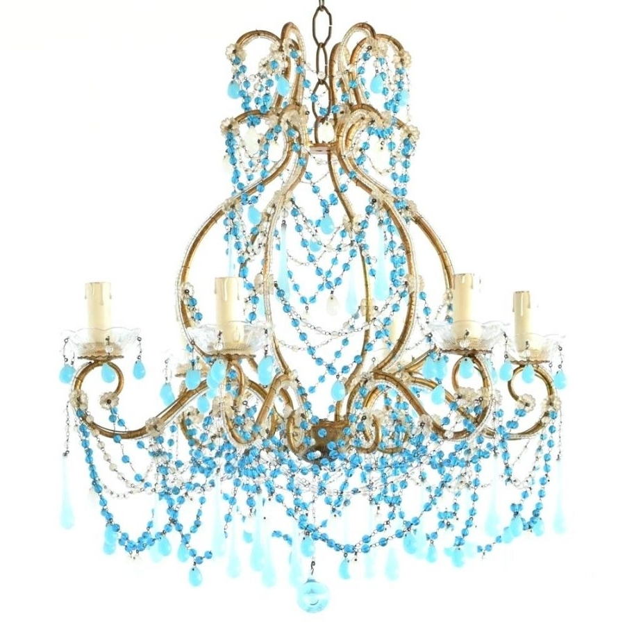2018 Articles With Turquoise Crystal Chandelier Earrings Tag: Turquoise Throughout Turquoise Chandelier Crystals (View 15 of 15)
