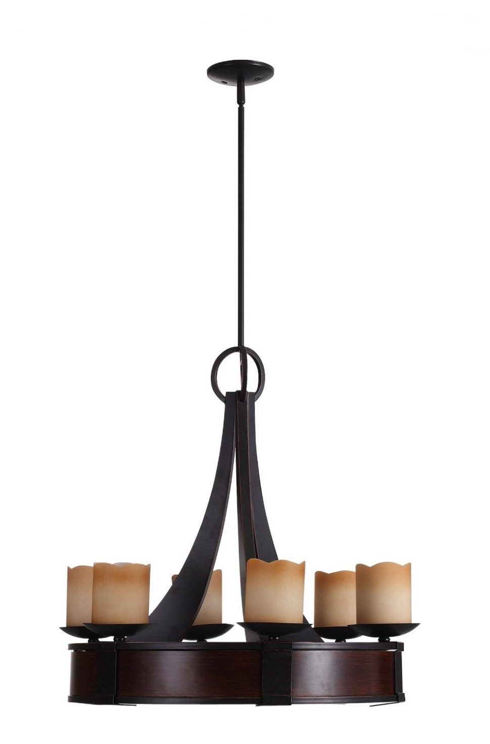 2018 Chandeliers Design : Awesome Rustic Wrought Iron Chandelier Wood And With Modern Wrought Iron Chandeliers (View 7 of 15)
