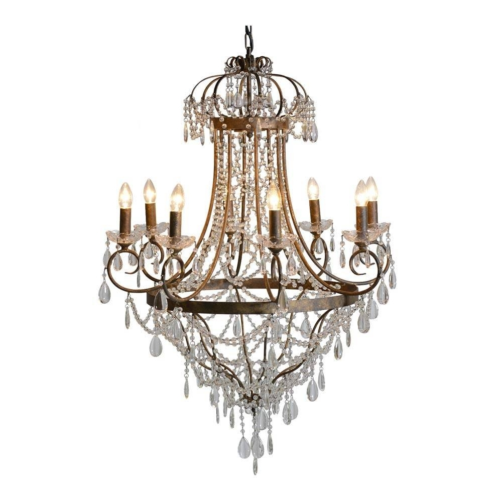 2018 Vintage Chandelier Throughout Essence Vintage Large Chandelier (View 1 of 15)