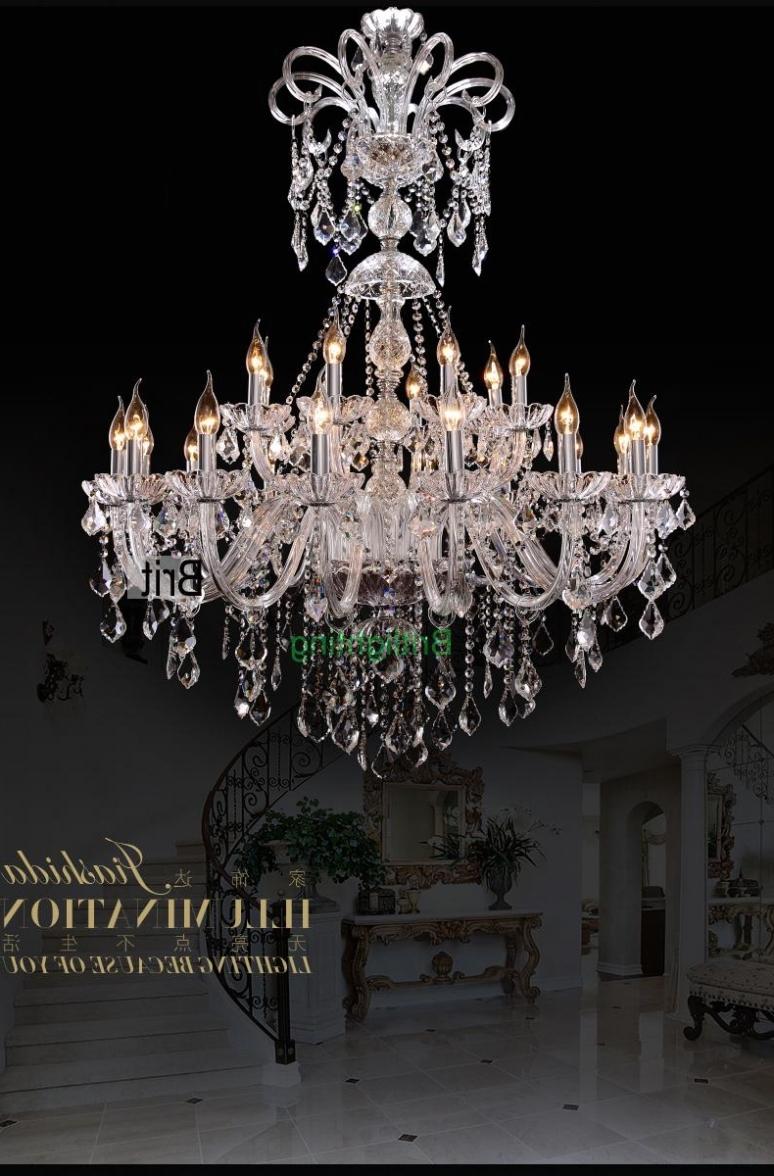2018 Vintage Chandeliers Regarding Lighting: Extra Large Foyer Chandelier Vintage Chandeliers Modern (View 2 of 15)