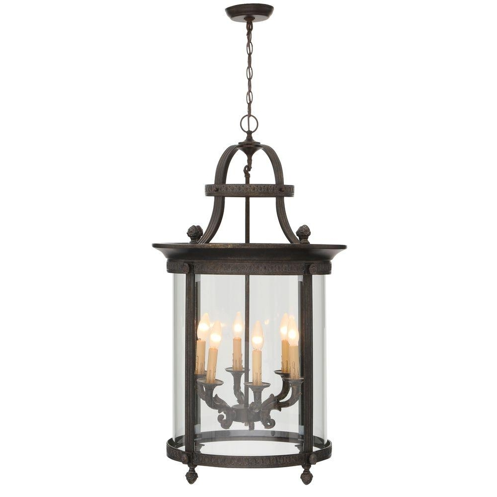 2018 World Imports Chatham Collection 6 Light French Bronze Outdoor Intended For French Bronze Chandelier (View 6 of 15)