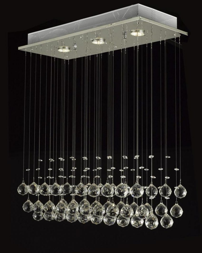 49 Examples Suggestion Long Hanging Chandelier Crystal Globe Ceiling For Famous Long Hanging Chandeliers (View 1 of 15)
