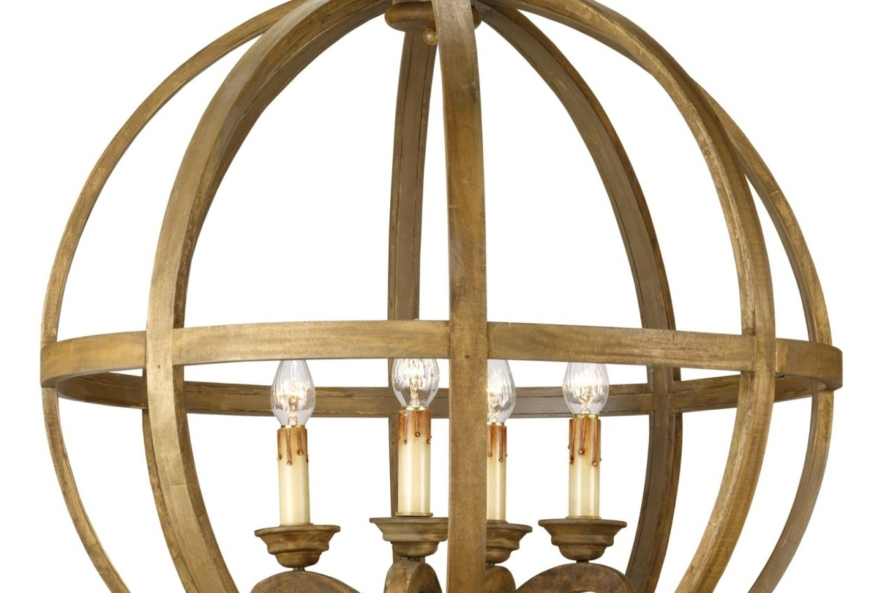Accessories: Beautiful Orb Chandelier For Interior Lighting Ideas Within Best And Newest Metal Sphere Chandelier (View 10 of 15)