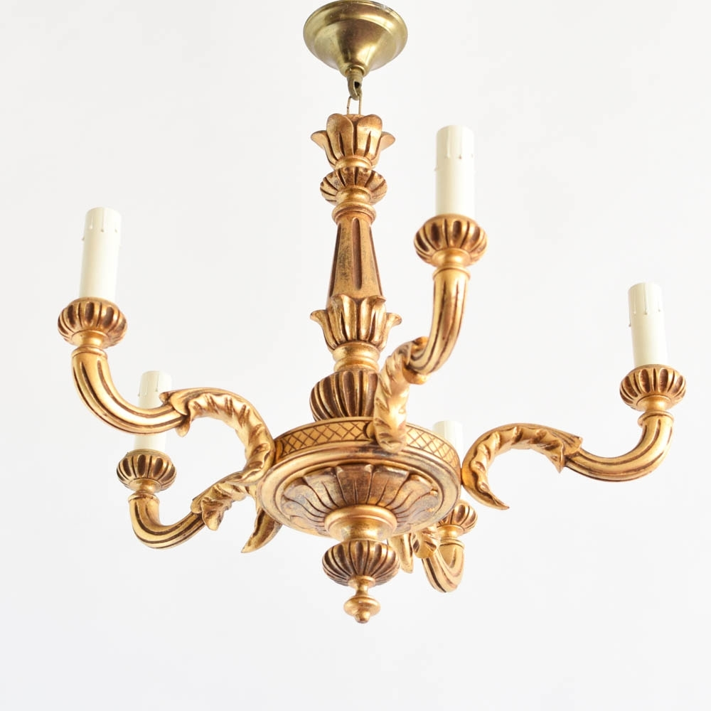 Antique Italian Wood Chandelier : Chandelier Gallery With Regard To Well Liked Vintage Italian Chandeliers (View 15 of 15)