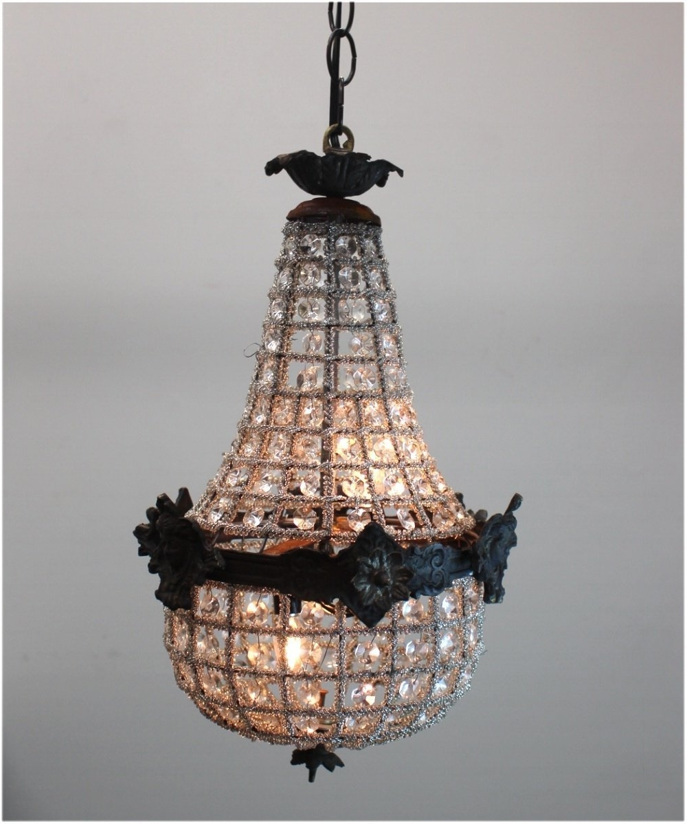 Antique Small Crystal Chandeliers Egyptian Crystal Chandelier Style Throughout Favorite Egyptian Crystal Chandelier (View 1 of 15)