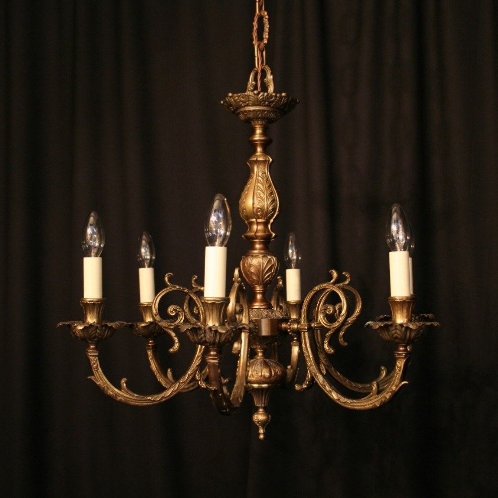 Antique Spanish Chandelier (View 14 of 15)