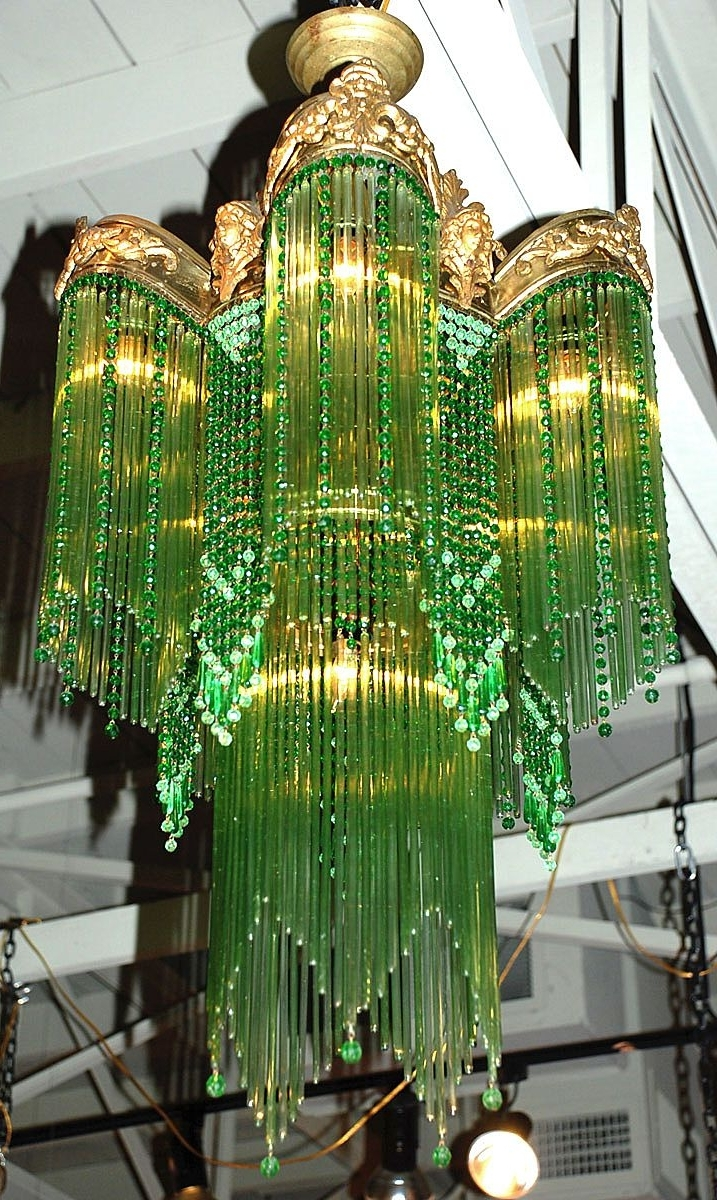 Art Nouveau Chandelier – This Is My All Time Favorite (View 2 of 15)