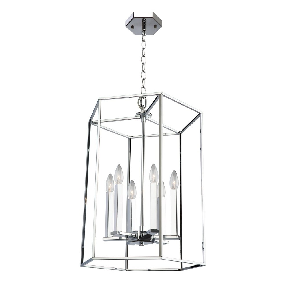 Artcraft Lighting Pertaining To Widely Used Modern Chrome Chandelier (View 4 of 15)