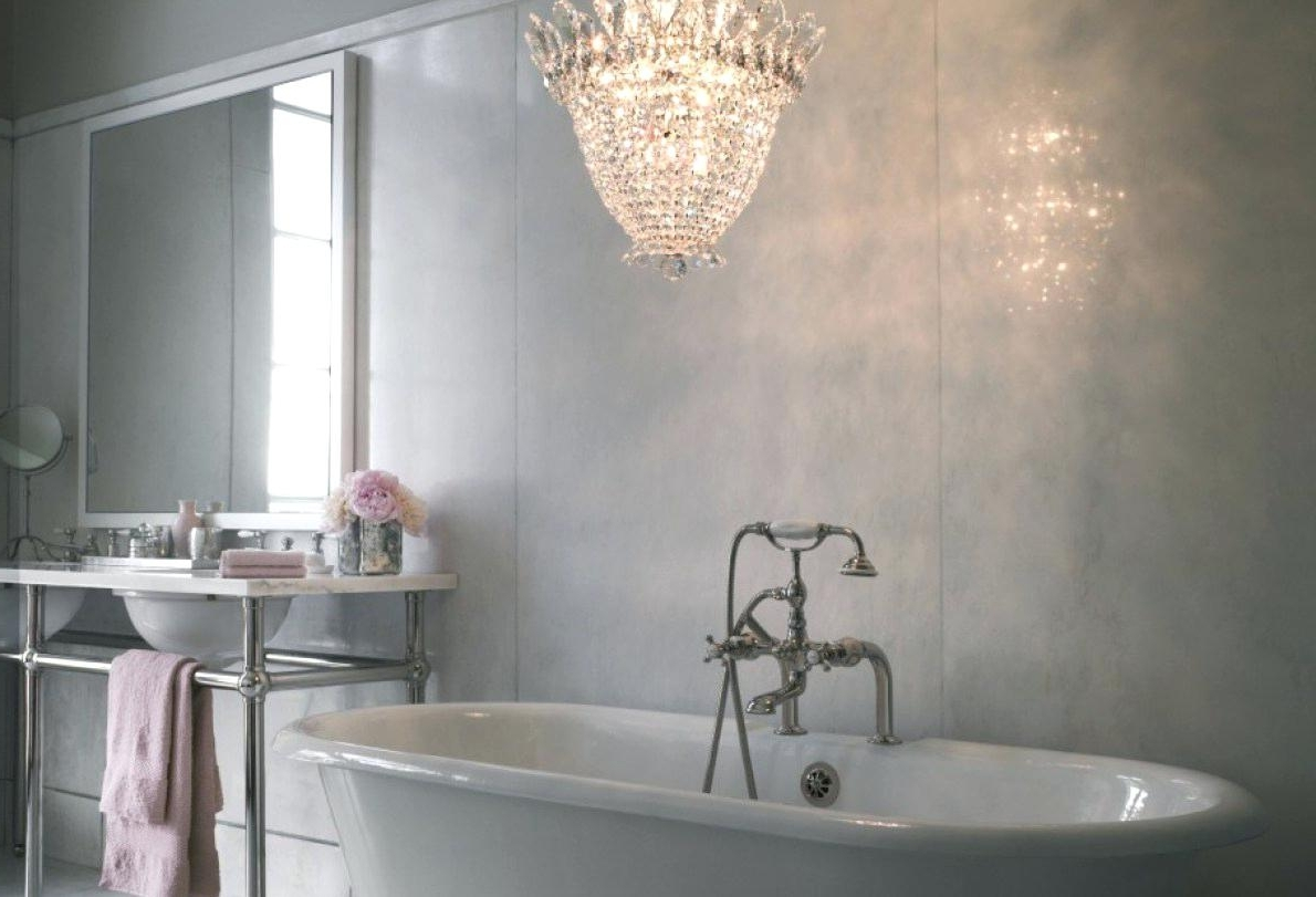 Best And Newest Chandelier Bathroom Vanity Lights Chandeliers Small For Master Full With Mini Bathroom Chandeliers (View 11 of 15)