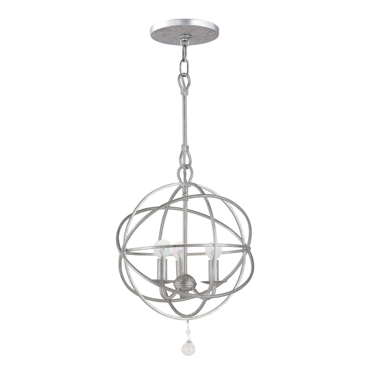 Best And Newest Contemporary Mini Chandeliers & Modern Mini Chandelier Lighting Regarding Modern Silver Chandelier (View 12 of 15)