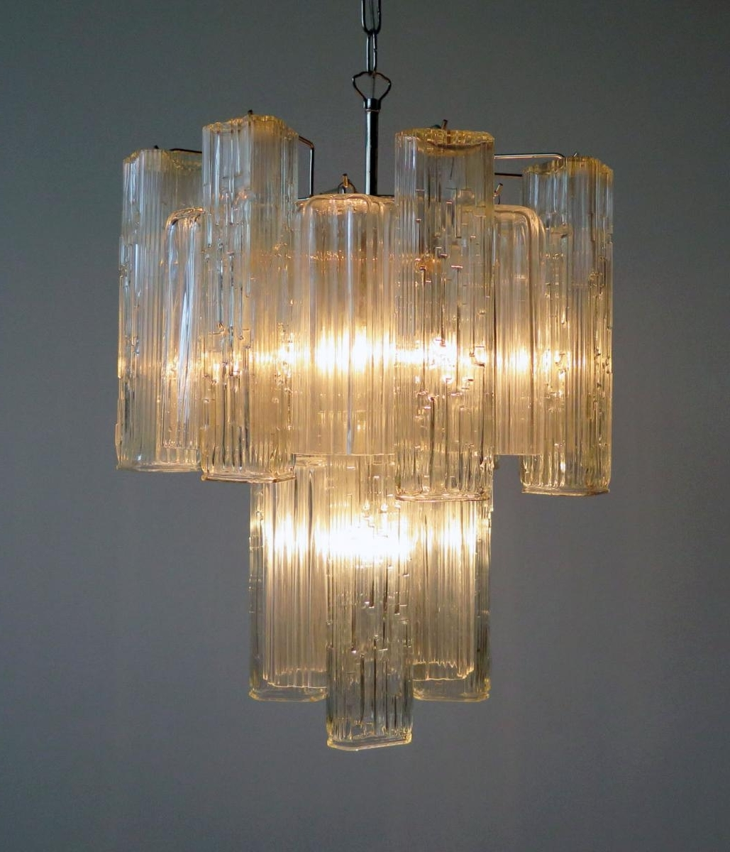 Best And Newest Glass Chandelier Within Vintage Murano Glass Chandelier From Murano For Sale At Pamono (View 2 of 15)