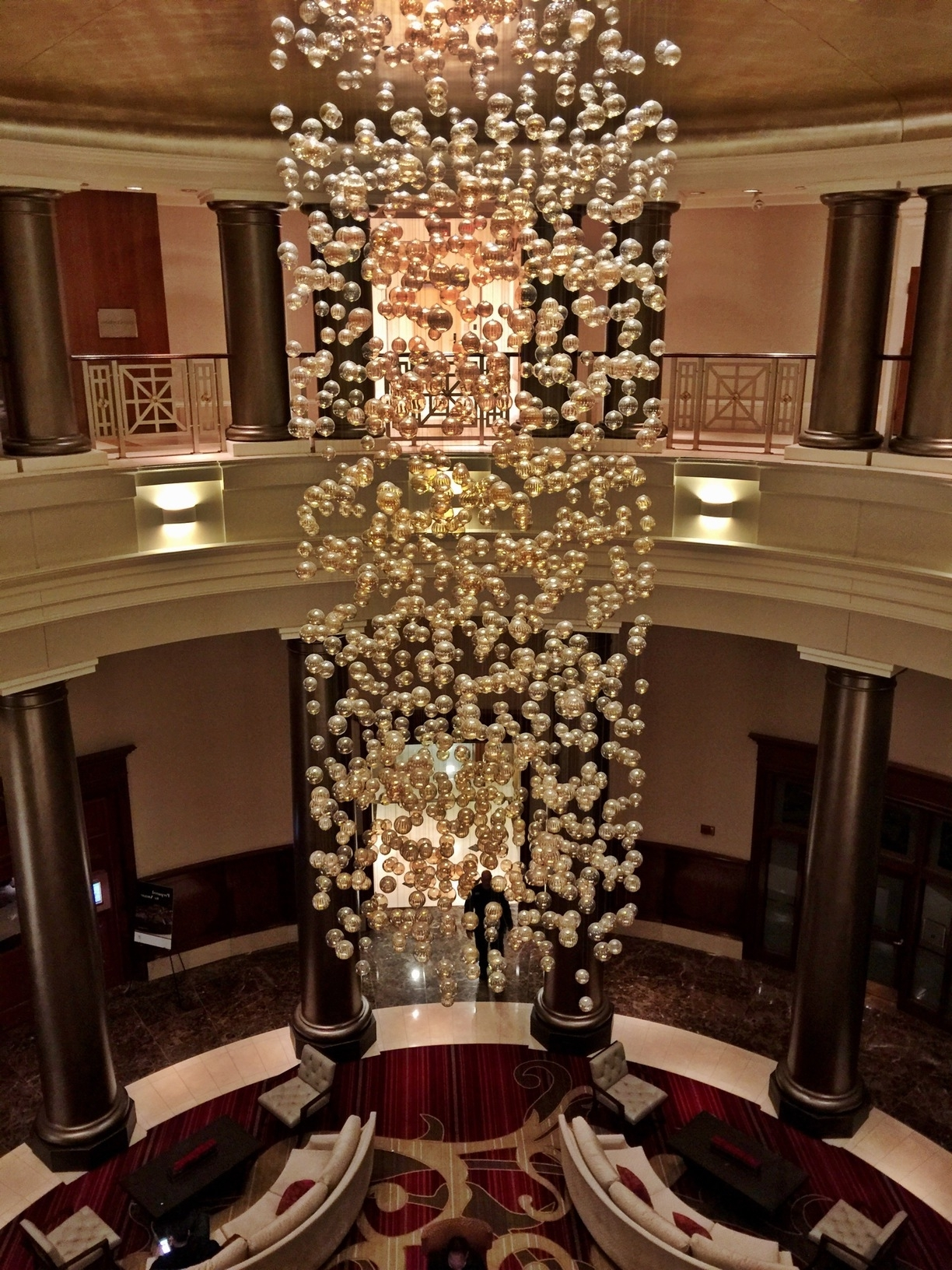 Best And Newest Hotel Chandelier Intended For Providence Hotel, Providence, Rhode Island – Lobby Chandelier (View 10 of 15)