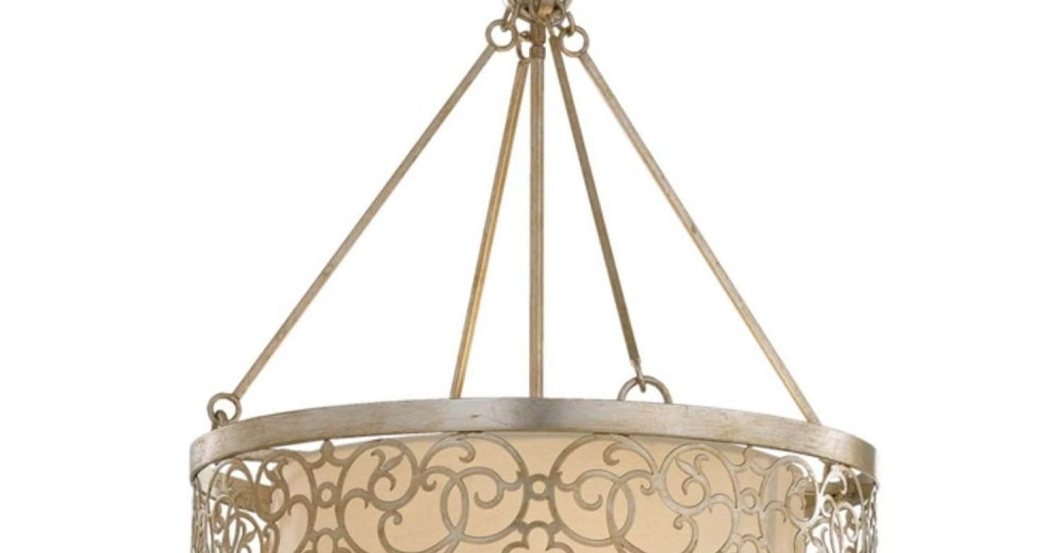 Best And Newest Metal Drum Chandeliers Regarding Chandeliers Design : Magnificent Metal Drum Chandelier Amazing (View 2 of 15)
