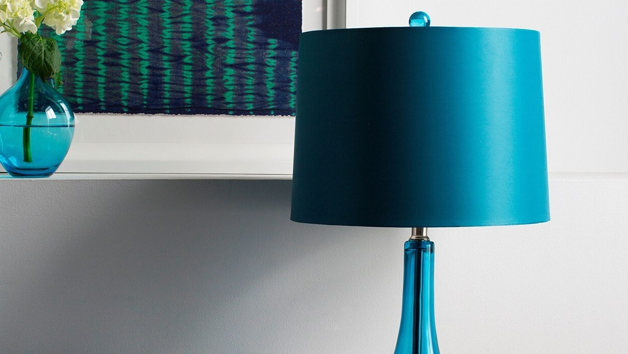 Best And Newest Picking The Perfect Look For Your Lamp Shade – Overstock Pertaining To Turquoise Chandelier Lamp Shades (View 13 of 15)