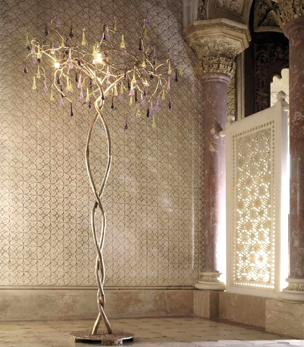 Best And Newest Standing Chandeliers Within Floor Standing Chandeliers (View 5 of 15)