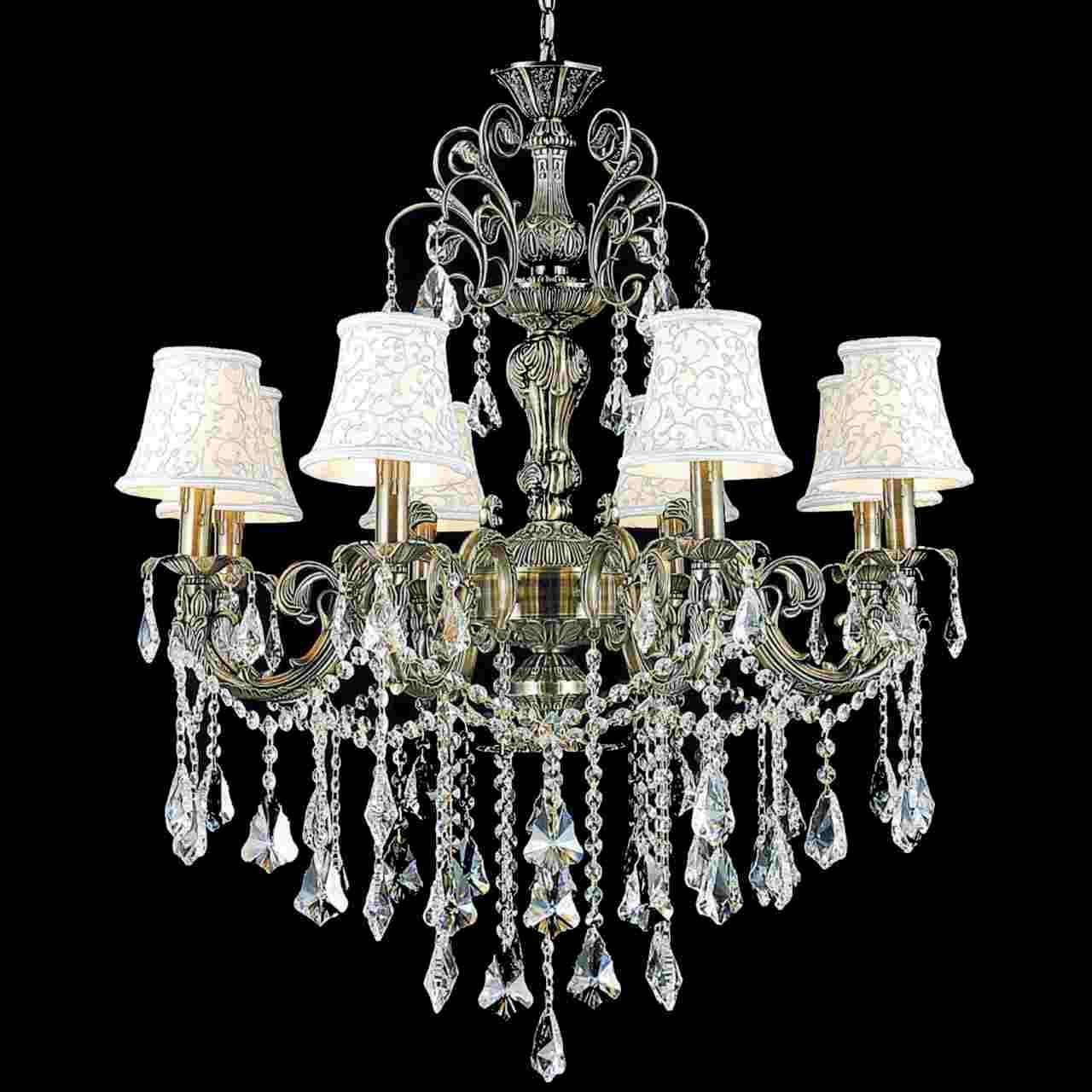 Best And Newest Traditional Chandeliers Intended For Brizzo Lighting Stores (View 2 of 15)