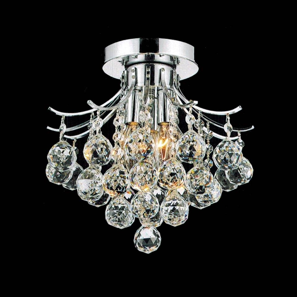 Featured Photo of Small Chrome Chandelier