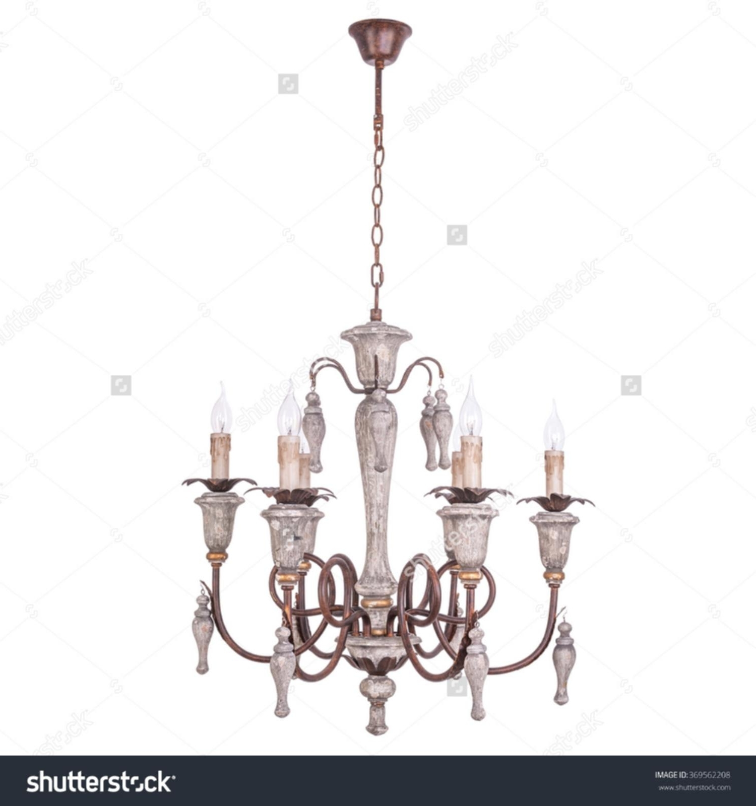 Bryony 9 Light Chandelier Chandelier Vintage Style Isolated On White Within Current Vintage Style Chandelier (View 11 of 15)
